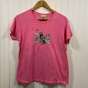 Top Stitch cat t-shirt